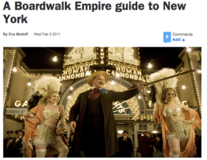 Boardwalk Empire Guide To New York